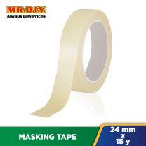 NEWSTAR White Masking Tape (24mm x 15y)