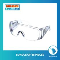 Full Transparent Safety Eye Protective Glass