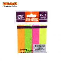 Sticky Note Pad 100pcs X 4