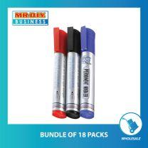HUAYING Multi-Colour Permanent Marker (3pcs)