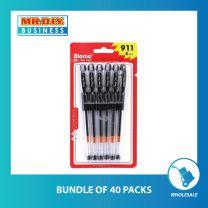 BLOMA Black Gel Ink Pen 0.5mm (6 pcs)