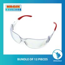 Comfort Rubber Safety Protective Glasses (full temple tips)