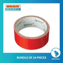 NEWSTAR Red Cloth Tape (35mm x 5m) (bundle of 24 or 96 pack)