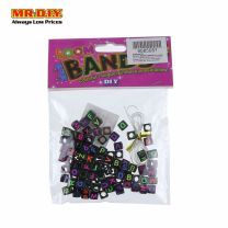 Loom Bands - Alphabets Black Beads