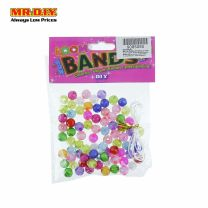 Loom Bands - Transparent Round Beads (80pcs)