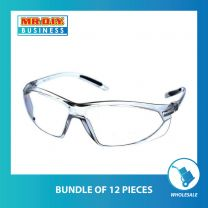 Comfort Rubber Safety Protective Glasses (partial temple tips)