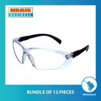 Comfort Rubber Safety Protective Glasses (full temples)