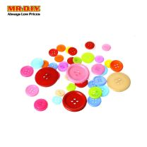 Colourful Craft Decoration Button LM