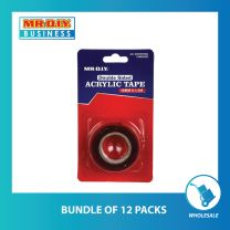 Double Side Acrylic Tape 18MM*1.5M (bundle of 12 or 48 pack)