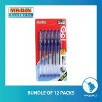 STYNO Blue Gel Pen 0.5mm (6 pcs)