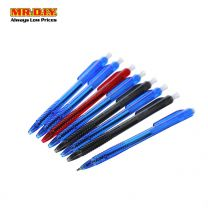 NIEKI 3 Colours Ball Pen 1.0mm 8T-9002 (8pcs)
