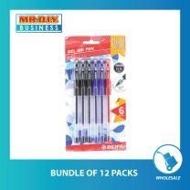 BEIFA Gel Ink Pen 0.5mm (6 pcs)
