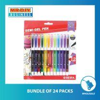 BEIFA Semi-gel Pen 0.7mm (12 pcs)