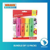 BEIFA Highlighter 4Pcs HY254400
