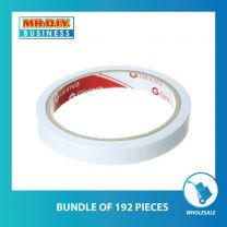 GINNVA Double Sided Tissue Tape (12mm x 10y)(bundle of 48 pcs & 192 pcs )