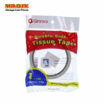 GINNVA Double Sided Tape 18mm (White)