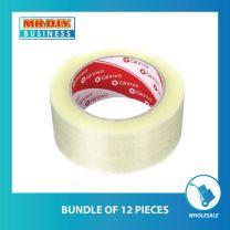 GINNVA 1902 Strong Adhesive Transparent Bopp Tape (48mm x 100m)