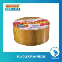 GINNVA Transparent Bopp Tape (48mm X 100m) (bundle of 36 pack)