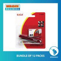 EAGLE Stapler and Staples set (500pcs)