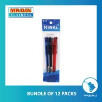 NIEKI Gel Ink Pen 3pcs