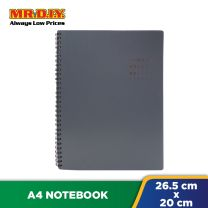 JINGU Simple Writing 16K Double Ring A5 Notebook 5856