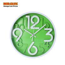Big Digits Round Wall Clock