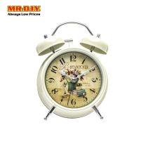 BOTANICALS Twin Bell Alarm Clock