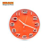 QUARTZ Wall Clock 13' WH-6711ANB#