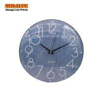 KLJ-6129 QUARTZ Rimless Wall Clock (12 Inch)