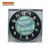 MR DIY Circular Modern Wall Clock WR-10552 12Inch