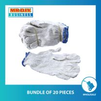 White Cotton Hand Glove (bundle of 20 or 100 pack)