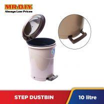 LAVA Plastic Round Step Dustbin (10L)