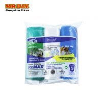 SEKOPLAS ReMAX HDPE Semi-Transparent Garbage Bag S Size (3 x 20pcs)