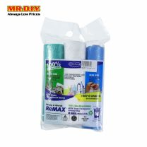 SEKOPLAS ReMAX HDPE Semi-Transparent Garbage Bag M Size (3 x 15pcs)