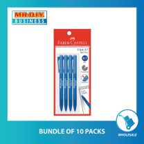 FABER-CASTELL Click X7 Ball Pen Blue 0.7mm (4pcs)