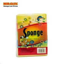 ARCENCIEL Multi-Colour Washing Sponge (5pcs)