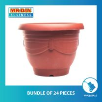 FELTON Round Plastic Flower Pot (33cm x 27cm)
