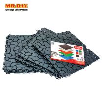FELTON Bathroom Anti-Slip Marble Floor Mat (6pcs)