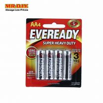 EVEREADY Super Heavy Duty Batteries AA (4 Pcs) 1215BP4