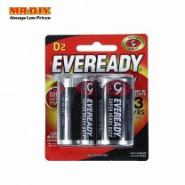 EVEREADY Super Heavy Duty Batteries D (2 Pcs) 1250BP2P
