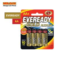 EVEREADY Gold Alkaline Battery AA (4pcs)
