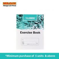Green F5 Exercise Book 100PG S-1502