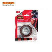 SCOTCH Outdoor Permanent Mounting Tape (12mm x 1.5m)