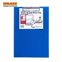 ACADEMY 2 in 1 A4 White Board with Clip