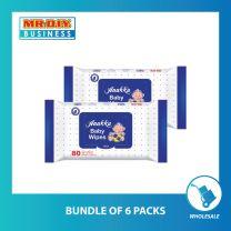 ANAKKU Baby Wipes Wet Tissue (2pcs x 80's)