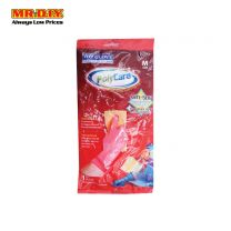 TOP GLOVE PolyCare Gloves Pink (Size: M)