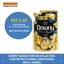 DOWNY Daring Parfum Collection Concentrate Fabric Conditioner Refill (580ml)