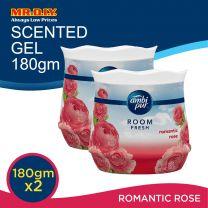 AMBI PUR Room Fresh Air Refreshing Gel Value Pack Romantic Rose (2 x 180g)