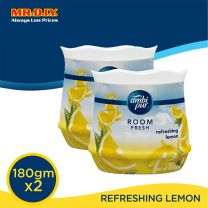 FEBREZE Ambi Pur Room Fresh - Refreshing Lemon ( 2x180g)