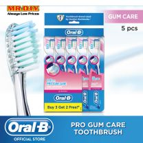 Oral-B UltraThin Pro Gum Care (Extra Soft) Manual Toothbrush Buy 3 Get 2 Free - PolyBag